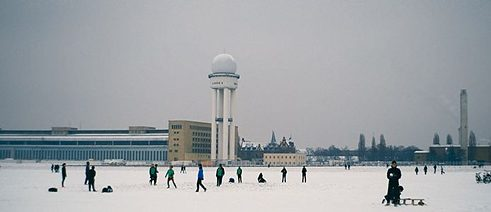 In 'Central Airport THF', Berlin-based filmmaker Karim Aïnouz examens the current plight of the city's Tempelhof Airport.