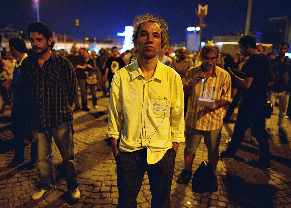 "Standing as a form of protest: the ""Standing Man"" in Gezi Park"