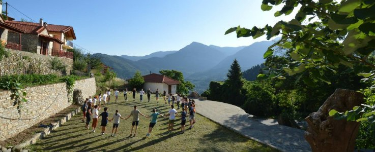 Sommercamp in Ano Chora