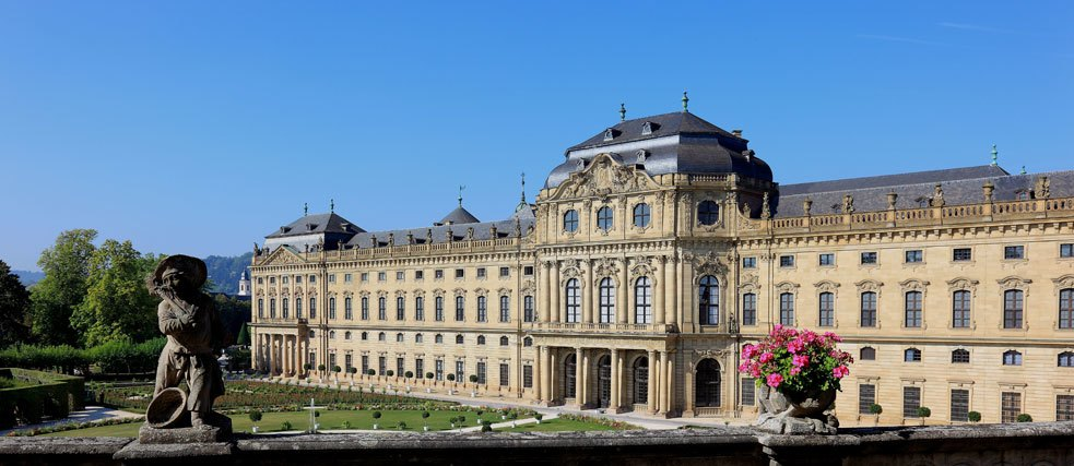 The Wurzburg Residence, a UNESCO World Cultural Heritage site since 1981