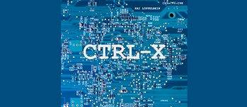 Book Cover: Ctrl-X. A topography of e-waste