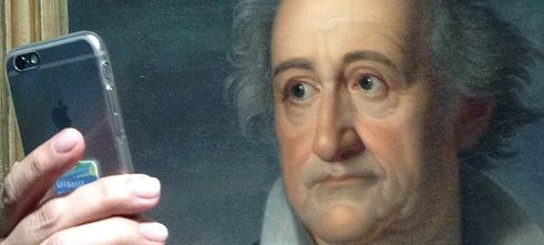 Goethe Selfie | Wallraff-Richartz-Museum | Cologne