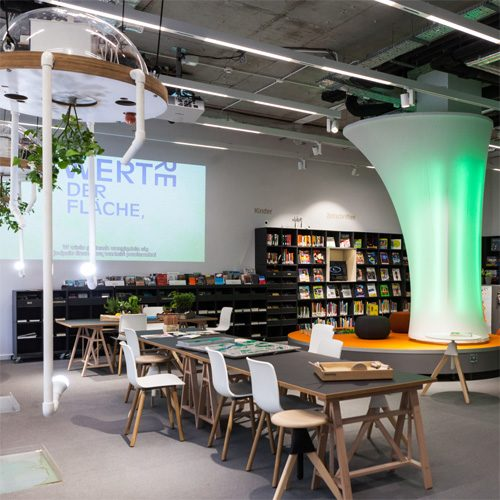 Library of the Goethe-Institut Warschau