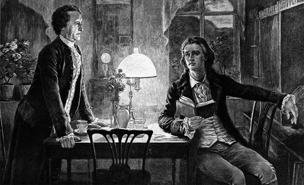 Good friends who inspired each other: Goethe and Schiller's frequent exchange gave birth to a new literary movement – Weimer Classicism.
