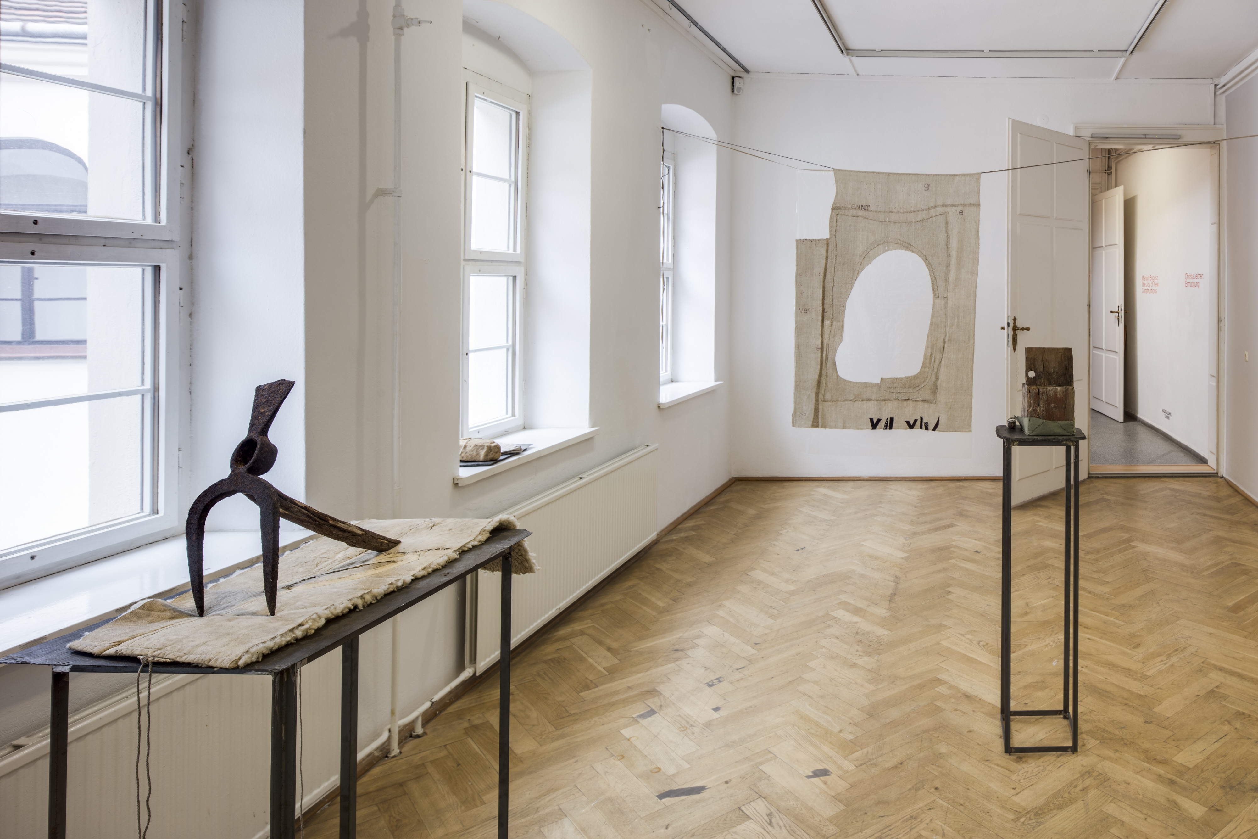 View of the exhibition Marian Bogusz: The Joy of New Constructions