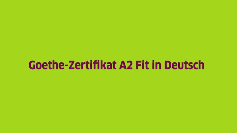 übungsmaterialien Goethe Institut