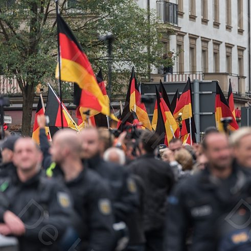 Rechte Demonstration in Chemnitz am 01.09.2018
