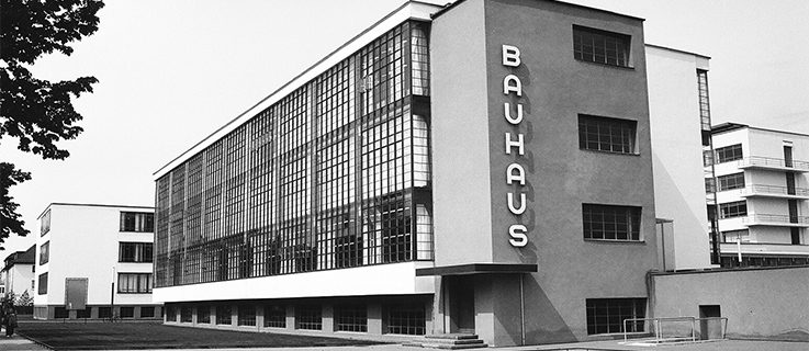 "<a href="" https://www.flickr.com/photos/naterobert/4682696561""target=""_blank"">"" Bauhaus, Dessau, Germany ""</a>by <a href="" https://www.flickr.com/photos/naterobert ""target=""_blank"">Nate Robert</a> is licensed under  <a href=""https://creativecommons.org/licenses/by/2.0""target=""_blank""> CC BY 2.0</a>"