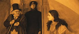 "Still image from ""The Cabinet of Dr. Caligari"", directed by Robert Wiene, 1920"