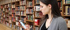 Indoor navigation helps people to find their way round libraries