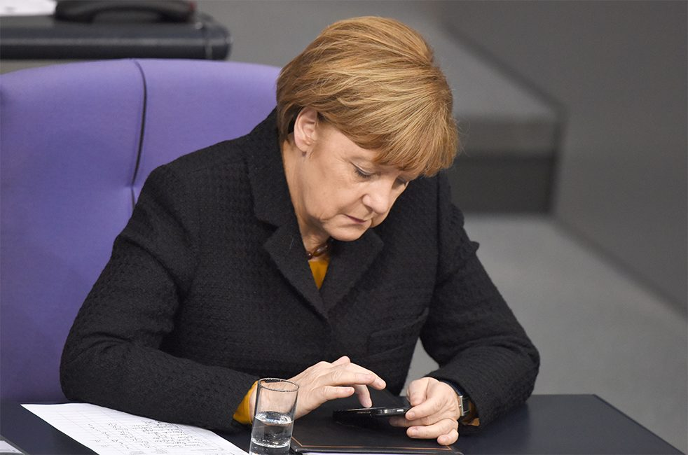 Chancellor Angela Merkel was shocked in 2013 when it emerged that the US intelligence agency NSA had tapped her mobile phone.