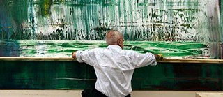 "Still image from ""Gerhard Richter - Painting"", directed by Corinna Belz, 2011"