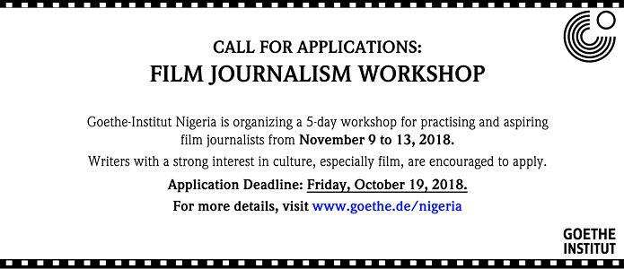 Film Journalism Workshop