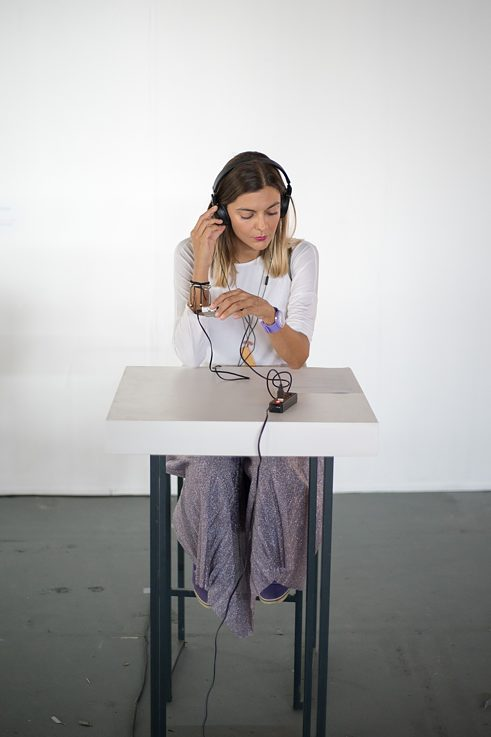 Sound work by Evi Karathanasopoulou