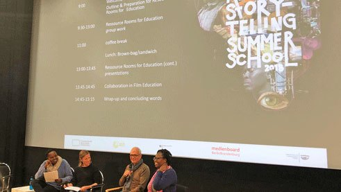 Experts discuss the professionalisation of the film sector during the African Storytelling Summer School
