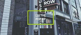 Goethe Pop Up Seattle