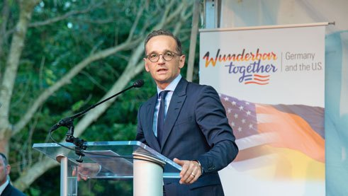 Heiko Maas talks about German-American partnership