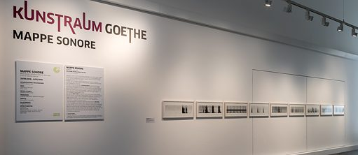 Mappe sonore – Mostra al Goethe-Institut Rom | Christina Kubisch: <i>Analyzing Silence</i>