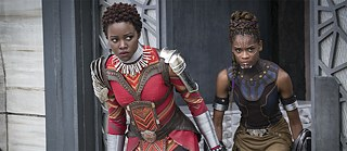 Afrofuturism in film: A scene out of Marvel's blockbuster Black Panther
