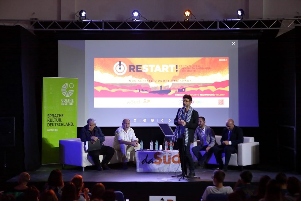 The start of the Restart Festival  on 18 October, 2018