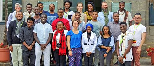 Participants of the Megagame-Workshop in Addis Abeba
