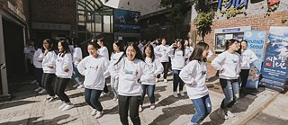 Deutsch in Seoul Flashmob