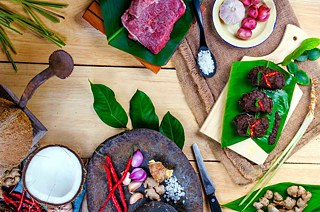 Ingredients of Rendang