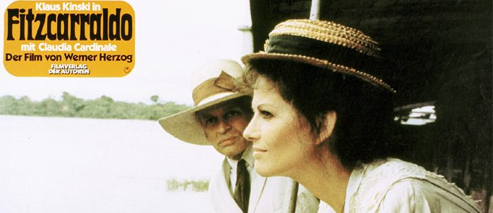 Klaus Kinski and Claudia Cardinale