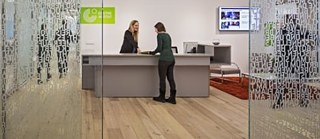 Reception Desk of the Goethe-Institut New York