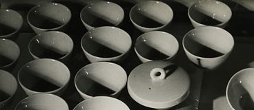 Grit Kallin-Fischer. KPM-Berlin, industial porcelain, c. 1930, section