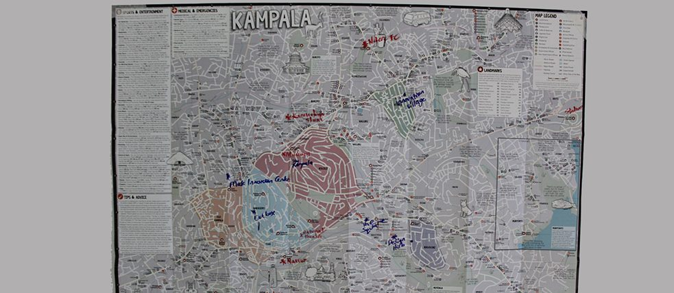 Locations in Kampala