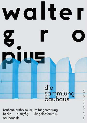 Berlin Bauhaus Collection posters