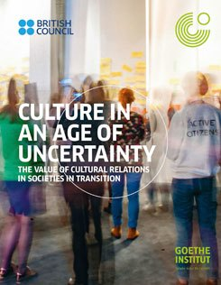 Front page: Culture in an Age of Uncertainty report
