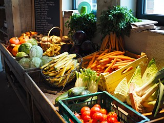 Vegetables/potatoes selection