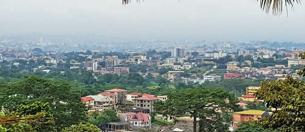 View of Yaoundé