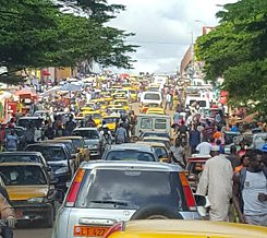 Traffic in Yaoundé