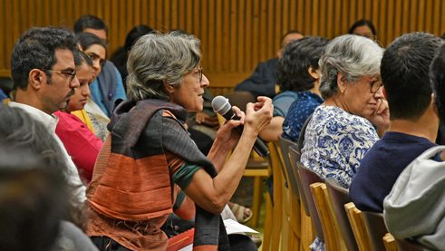 The topic of Bauhaus Pedagogy attracts an interested audience to the symposium in New Delhi