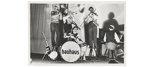 Members of the Bauhaus band. Unknown Photographer