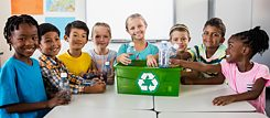 Even young children can learn a sustainable lifestyle.