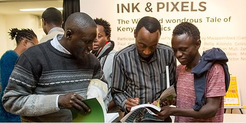 Ink & Pixels_Book launch