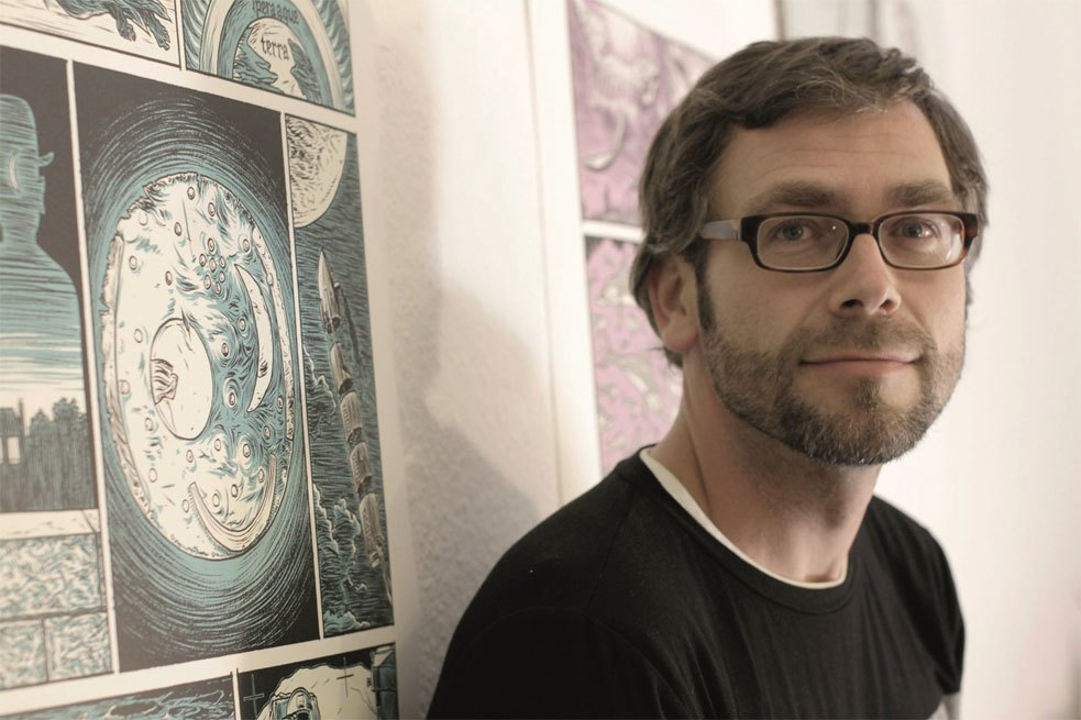 Comic-strip artist Jens Harder