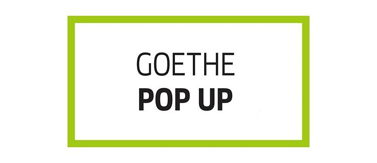 Goethe Pop Up Logo