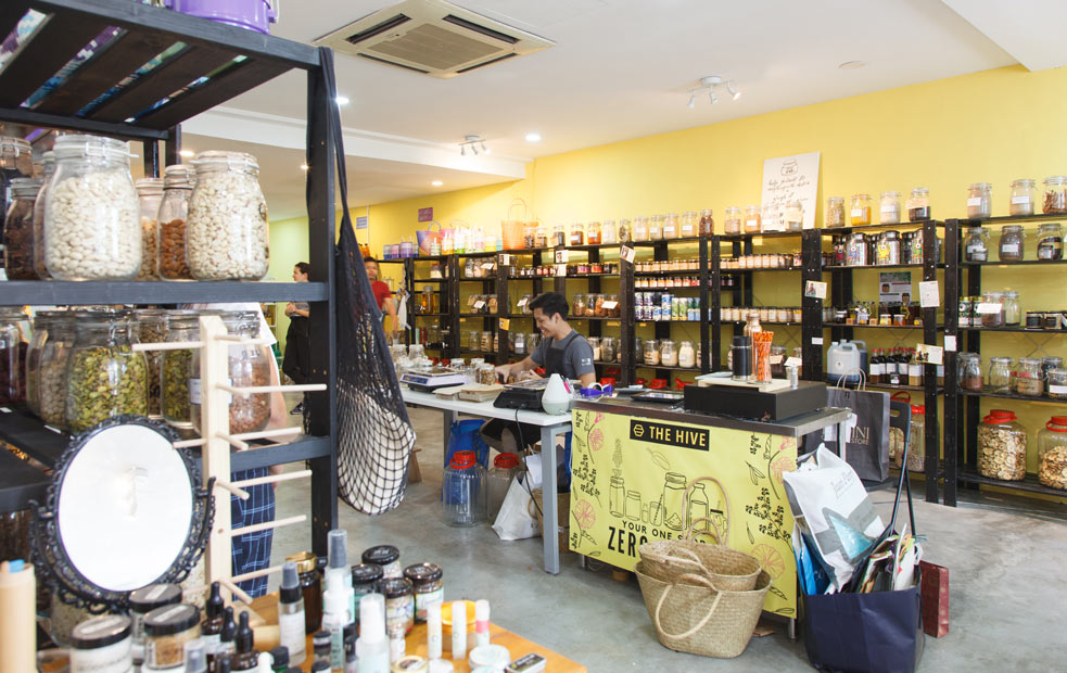 The shop in Bangsar is one of The Hive's two branches.