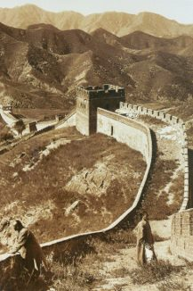 The great Wall of China, Herbert Ponting, 1907