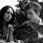 "Joan Baez und Bob Dylan beim ""March on Washington"""