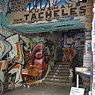 One of Berlin's best known open art spaces: the Kunsthaus Tacheles.