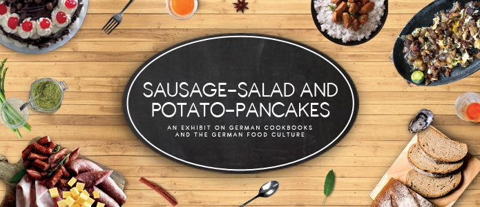 Sausage Salad & Potato Pancakes