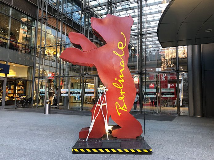 Navigating the 2019 Berlinale on crutches.