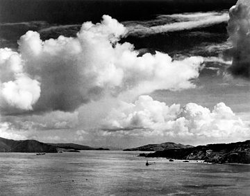 The Golden Gate Before the Bridge by Ansel Adams