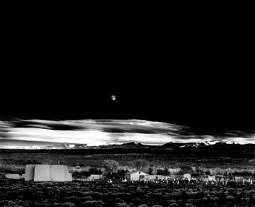 Moonrise by Ansel Adams